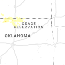 Regional Hail Map for Tulsa, OK - Friday, June 14, 2019