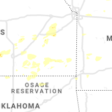 Regional Hail Map for Chanute, KS - Saturday, June 15, 2019