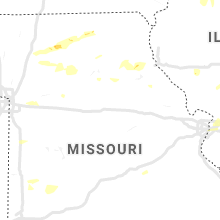 Regional Hail Map for Columbia, MO - Saturday, June 15, 2019