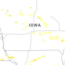 Regional Hail Map for Des Moines, IA - Saturday, June 15, 2019