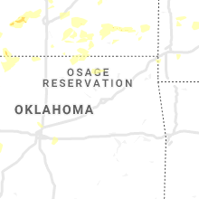 Regional Hail Map for Tulsa, OK - Saturday, June 15, 2019