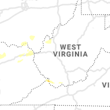 Regional Hail Map for Charleston, WV - Sunday, June 16, 2019