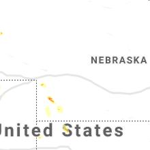 Hail Map for north-platte-ne 2019-06-16
