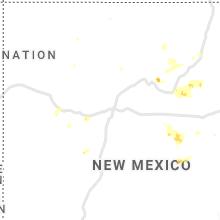 Regional Hail Map for Albuquerque, NM - Monday, June 17, 2019