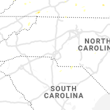 Regional Hail Map for Charlotte, NC - Monday, June 17, 2019
