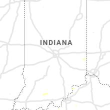 Regional Hail Map for Indianapolis, IN - Monday, June 17, 2019