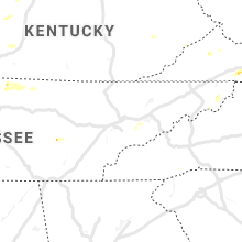 Regional Hail Map for Knoxville, TN - Monday, June 17, 2019