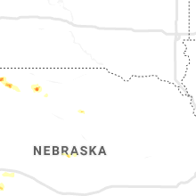 Regional Hail Map for Oneill, NE - Monday, June 17, 2019