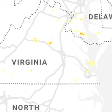 Regional Hail Map for Richmond, VA - Monday, June 17, 2019