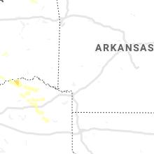 Regional Hail Map for Nashville, AR - Tuesday, June 18, 2019