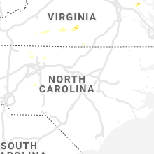 Regional Hail Map for Raleigh, NC - Tuesday, June 18, 2019