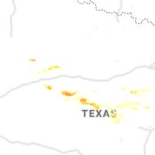 Regional Hail Map for Abilene, TX - Wednesday, June 19, 2019