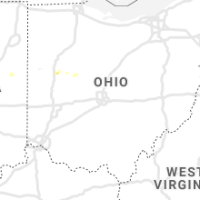 Regional Hail Map for Columbus, OH - Wednesday, June 19, 2019