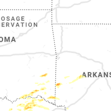 Hail Map for fort-smith-ar 2019-06-19