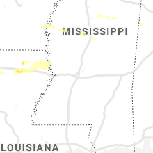 Regional Hail Map for Jackson, MS - Wednesday, June 19, 2019