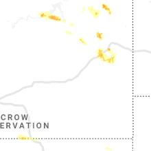 Regional Hail Map for Miles City, MT - Wednesday, June 19, 2019