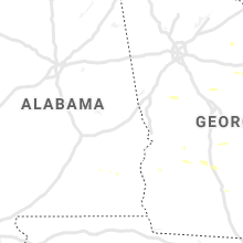 Regional Hail Map for Auburn, AL - Thursday, June 20, 2019