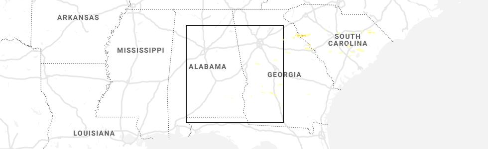 Interactive Hail Maps Hail Map For Americus Ga