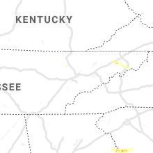 Regional Hail Map for Knoxville, TN - Thursday, June 20, 2019