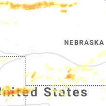 Hail Map for north-platte-ne 2019-06-20