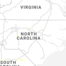 Regional Hail Map for Raleigh, NC - Thursday, June 20, 2019