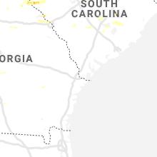 Hail Map for savannah-ga 2019-06-20