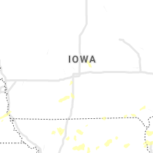 Regional Hail Map for Des Moines, IA - Friday, June 21, 2019