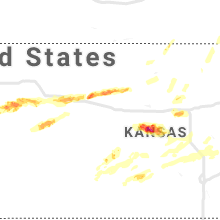 Hail Map for hays-ks 2019-06-21