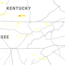 Regional Hail Map for Knoxville, TN - Friday, June 21, 2019