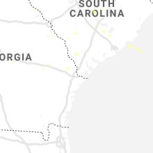 Hail Map for savannah-ga 2019-06-21