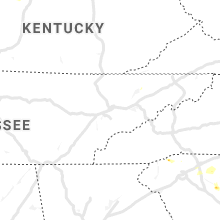Regional Hail Map for Knoxville, TN - Saturday, June 22, 2019