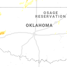 Regional Hail Map for Oklahoma City, OK - Saturday, June 22, 2019
