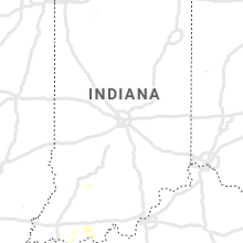 Regional Hail Map for Indianapolis, IN - Sunday, June 23, 2019