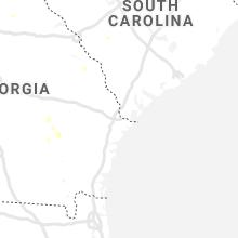 Hail Map for savannah-ga 2019-06-23