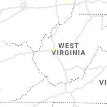 Regional Hail Map for Charleston, WV - Monday, June 24, 2019