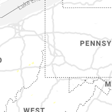 Regional Hail Map for Pittsburgh, PA - Monday, June 24, 2019