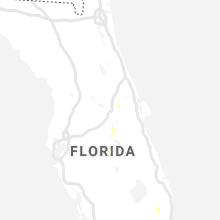 Regional Hail Map for Orlando, FL - Tuesday, June 25, 2019