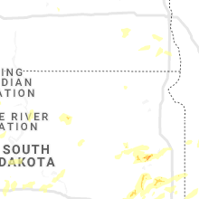 Regional Hail Map for Aberdeen, SD - Wednesday, June 26, 2019