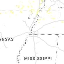 Regional Hail Map for Memphis, TN - Wednesday, June 26, 2019