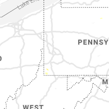 Regional Hail Map for Pittsburgh, PA - Wednesday, June 26, 2019