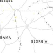 Hail Map for atlanta-ga 2019-06-27
