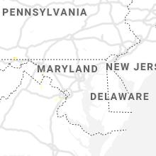 Regional Hail Map for Baltimore, MD - Thursday, June 27, 2019