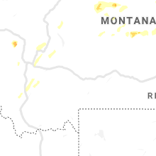 Regional Hail Map for Bozeman, MT - Thursday, June 27, 2019