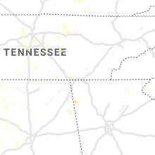 Regional Hail Map for Chattanooga, TN - Thursday, June 27, 2019