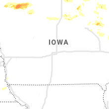 Regional Hail Map for Des Moines, IA - Thursday, June 27, 2019