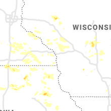 Regional Hail Map for La Crosse, WI - Thursday, June 27, 2019