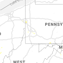 Regional Hail Map for Pittsburgh, PA - Thursday, June 27, 2019