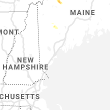 Regional Hail Map for Portland, ME - Thursday, June 27, 2019