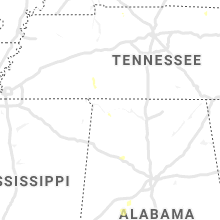 Regional Hail Map for Florence, AL - Friday, June 28, 2019
