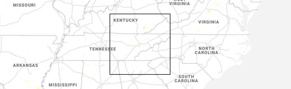 Interactive Hail Maps - Hail Map for Dandridge, TN on